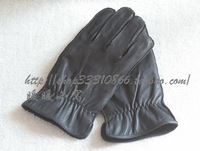Men gloves Goatskin Large size for man warm gloves