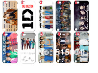 new  design!(50 styles)one Direction ID  case hard back cover for ipod touch 5 50PCS/lot+free shipping
