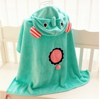 Circus cape air conditioning mantissas coral fleece blanket air conditioning small blanket at home casual cape