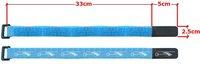 Velcro electrician straps