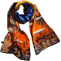 New arrivals women winter silk scarf 156cm*42cm 100% silk long design scarves free shipping YH-06