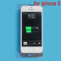 DHL free shipping New arrival 2200mAh External Backup Battery Backup Power Charger Case for apple iphone 5 ( 30pcs / lots )