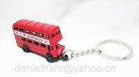 UK London keyring 2012 London Olympic souvenirs key chains 2014 new London bus key ring free shipping !