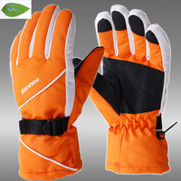 SG03 Waterproof Snow Gloves Winter Motorcycle Cycling Ski Snowboarding Glove Black Outdoor Free Shipping