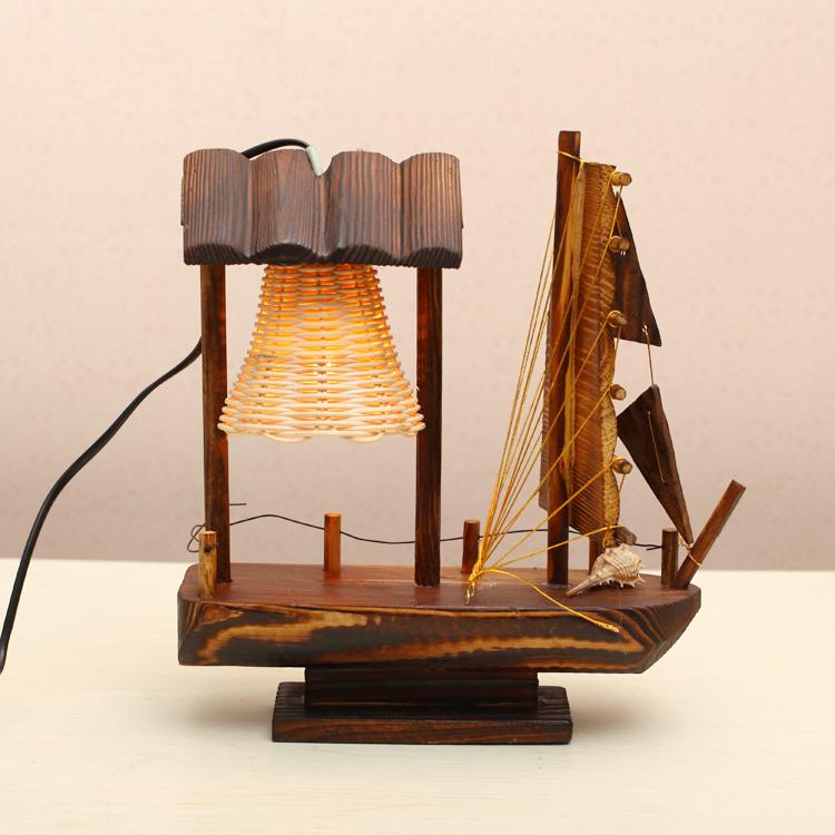 Ceramic modern home decoration handmade table lamp bedroom