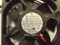 5cm  dfc501024h 5010 24v 2.4W  50*50*10MM  cooling fan