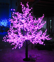 xmas lights led cherry tree 2Meters 1728 leds super bright outdoor lawn lamp