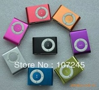 Free shipping!!! Dropshipping! MINI clip MP3 Player with Micro TF/SD card Slot with cable+earphone No retail box