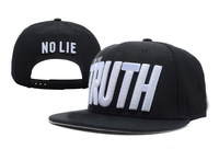 Im The Truth no lie  Snapback caps most popular  Adjustable hats top quality wholesale & dropshipping mix order accept