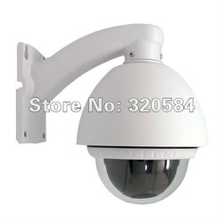 Megapixel Network IP mini speed dome camera ptz camera IP cctv camera outdoor use(China (Mainland))