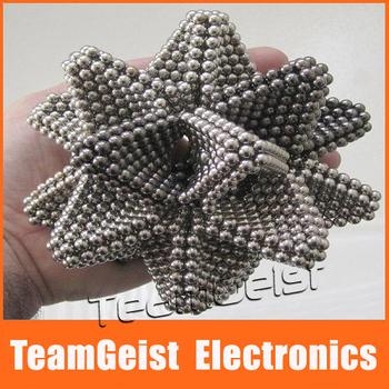 2sets/lot Magnet Buckyballs Spheres Balls Magic Neocube Cube Diameter 3mm 216pcs/set Magnetic Balls FEDEX DHL EMS Free Shipping