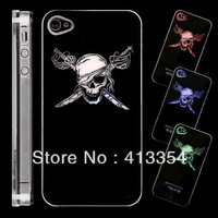 Sense Flash Light LED Color Hard Cover Case For Apple iPhone 4 4G 4s Hot