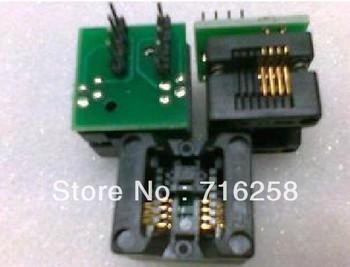 Free shiping  5PCS/LOT  SOIC8 turn DIP8 SOP8 to DIP8 IC socket Programmer adapter Socket High Quality
