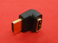 Right Angle 270 Degree 90 HDMI Male to HDMI Female 1 4 Adapter Converter Coupler