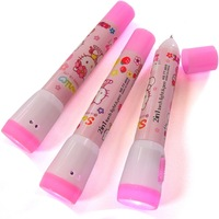 FREE SHIPPING Hello kitty flashlight ballpoint pen katie multi-purpose ballpoint pen kitty flashlight ballpoint pen
