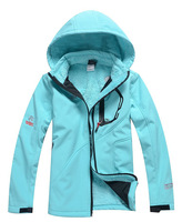 Free Shipping Womens Waterproof Windstopper Softshell Jacket