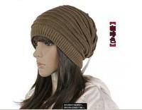 Christmas gift new black uniSex new Baggy Oversized BEANIE Hat Cap skull