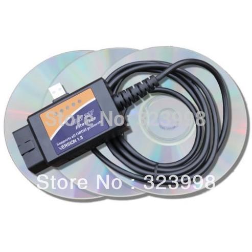OBD2 diagnostic tools ELM327 usb Interface OBD2 OBD elm 327 Auto scanner USB car diagnostic scan tool(China (Mainland))