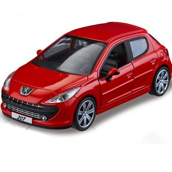 Peugeot peugeot 207 plain WARRIOR car model toys