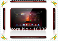 7 Inch MID Android 4.0 Capacitive Screen Tablet with 512M 4GB Camera WIFI Allwinner A10 Cortex A8 Table PC