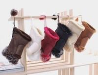 Free shipping,New Women's Rabbit Fur Hand Wrist Fingerless Gloves Warm Winter for keyboard hot sell