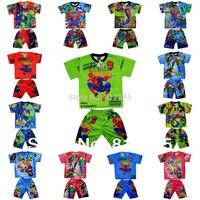 Комплект одежды для мальчиков ! , 3colors 5/8years 3sets