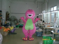 barney  mascot costume  FOAM HEAD finished costume