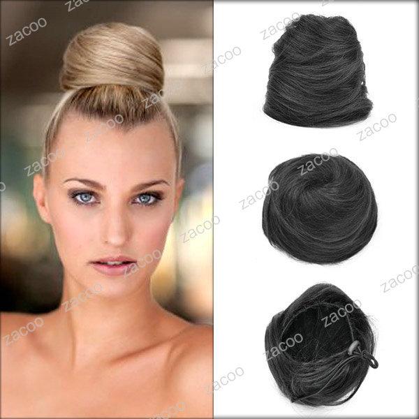 Black Hair Bun Pieces Black Hair Bun Extension