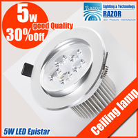 5W  led ceiling down lamp Epistar 480LM Home outfit necessities high-end product Free shipping DHL