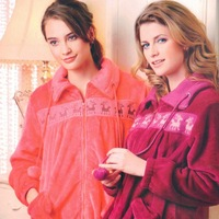 Free Shipping autumn and winter women's coral fleece sleep set lounge z3469 Sleep & Lounge