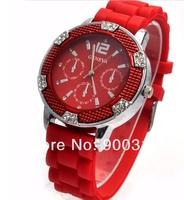 2012 Luxury Watch Woman Fashion Imitation Diamond Shinning Quartz Watch wrist watch 50pcs/lot+free shipping