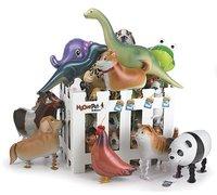 Free shipping 2012 special pet walk balloon/toy inflatable ball/walk animal balloon 100 PCS/lot (22) mix build)