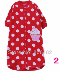 T12999-2 Free Shipping! Wholesale Baby Sleeping Bags,Cute Animal Pictures,Warm and Soft!0-9M Baby.(China (Mainland))