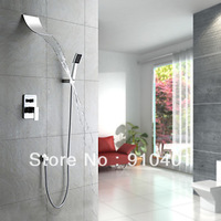 Contemporary cheap chrome brass  waterfall brathroom shower faucet LX-3028