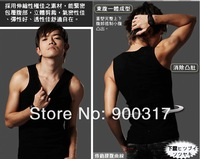Men Slimming Shirt Weight Vest Shaping Undergarment Elimination Of Male Beer Belly Body Shaping Garment  20PCS/lot+free shipping