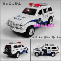 Public security police 110 WARRIOR alloy car model toy plain white