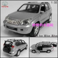 TOYOTA parados arbitrariness suv alloy car model toy acoustooptical WARRIOR silver
