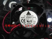 Delta efb0512ha 5010 12v 0.15a small computer case cooling fan