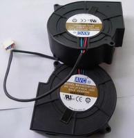 Original AVC BA10033B12U 9733 12v 2.4a 9cm drum wind machine Blower cooling fan 1set 2pcs