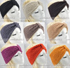 5 pcs/Lot Winter women Wholesale  Knit Hairband Crochet warmer Head wrap Headband Ear Warmer Gift