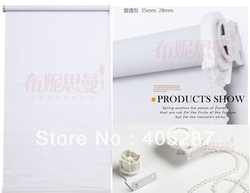 Thick fabric chain type window curtain office shade curtain household blinds roller blinds(China (Mainland))