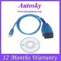 Free shipping USB KKL VAG-COM 409.1 for VW/AUDI,VAG COM 409.1