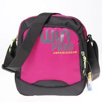 Vertical outdoor casual nylon cross-body sports bag