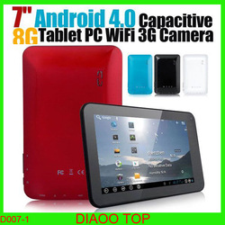 Cheap 7'' Via WM8850 A9 1.5GHZ Andrid 4.0 512MB 4GB Capacitive Screen WIFI Camera HDMI Tablet Free Shipping(China (Mainland))