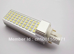Approval E27 /G24 10W 5050 SMD 40 LED PL Corn Light Bulb Lamp Cool White|Warm White 85V-265V CE&ROHS(China (Mainland))