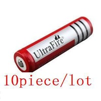 Big Discount+Free Shipping,10PCS/LOT ultrafire Brand 18650 3.7V Rechargeable Battery 4200mAh for LED Flashlight