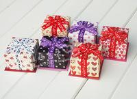 Wholesale jewelry box7.5-7.5-5.5cm  /gift box /packaging box / Candy Box logo