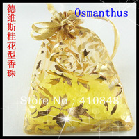 Free shipping 13g/bag Osmanthus smell can last one year smell  jasmine 50bags put in bag and chest with beauty color