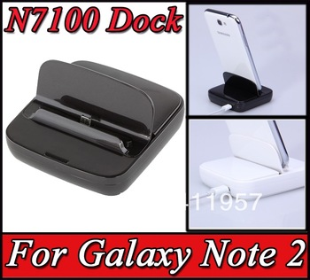 Galaxy Note 2 N7100 Dock Charging Cradle Station Dock Holder for Samsung Galaxy Note II 2 N7100 Free Shipping