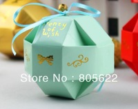 hot sell individual MOQ 300pcs in high quality excellent paper customized wedding chocolate packaging box